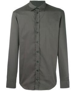 Armani Collezioni | Classic Shirt Xl Cotton/Polyamide/Spandex/Elastane