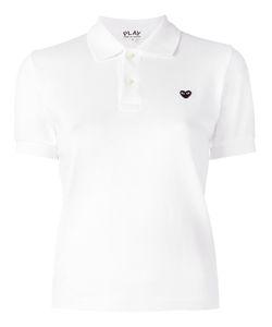 Comme des Gar ons Play | Comme Des Garçons Play Heart Patch Polo Shirt Xs