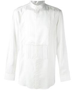 Givenchy   Fringed Panel Shirt 40 Viscose/Silk