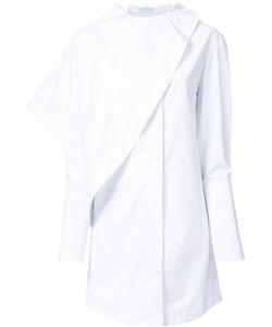 J.W. Anderson | J.W.Anderson Drape Neck Longline Shirt 6 Cotton