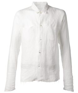 MA+ | Raw Finish Shirt 46 Linen/Flax
