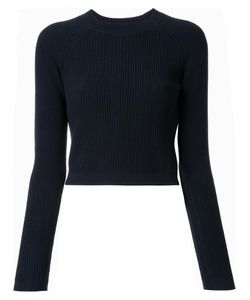 LEMAIRE | Fitted Rib Jumper Small Wool