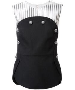 Monse   Button Detail Blouse 4 Polyamide/Spandex/Elastane/Virgin Wool