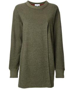 Katharine E Hamnett | Katharine Hamnett Front Slit Jumper 38 Mohair/Cotton/Nylon/Wool