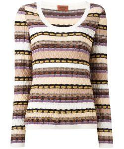 MISSONI VINTAGE | Striped Knit Jumper 40