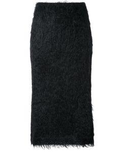 Jil Sander | Shaggy Skirt 36 Polyamide