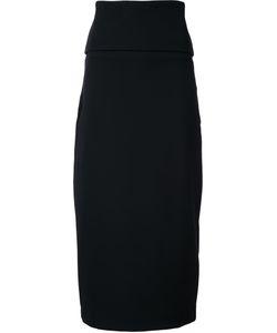 Jil Sander | Midi Pencil Skirt 36 Polyamide/Spandex/Elastane