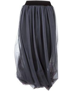 Nostra Santissima | Pleated Tulle Skirt 40 Polyamide