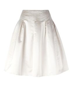 Chanel Vintage | Pleated A-Line Skirt 36.5