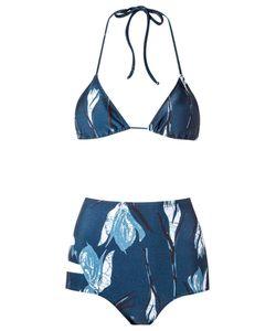 GIULIANA ROMANNO | Printed Triangle Bikini Set G Polyamide/Spandex/Elastane