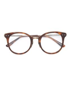 Bottega Veneta Eyewear | Round Frame Glasses Acetate/Metal Other
