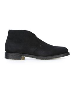 Church'S   Ryder Boots 10 Calf Suede/Leather/Rubber