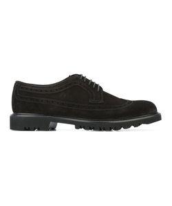 Giorgio Armani   Classic Brogue Shoes 7 Calf Leather/Rubber