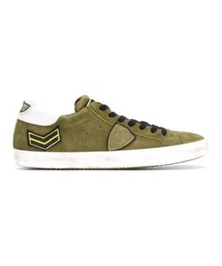 Philippe Model | Classic Lace-Up Sneakers 42 Suede/Leather/Rubber