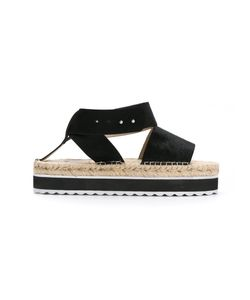 Manolita | Flatform Sandals 38 Leather