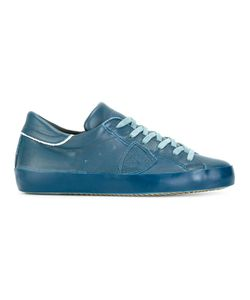 Philippe Model | Lateral Patch Sneakers 40 Leather/Rubber/Cotton