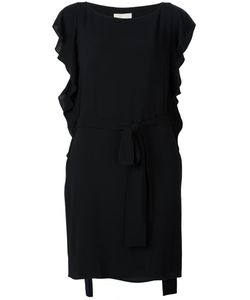 Michael Michael Kors | Ruffled Dress Large Polyester/Spandex/Elastane