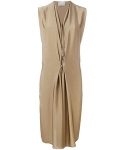 Lanvin | Hook And Eye Detail Dress 38 Silk