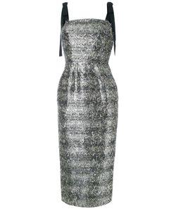 Rebecca Vallance | Midi Dress 14 Viscose
