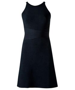 EGREY | Round Neck Knit Dress Medium Polyimide/Spandex/Elastane/Viscose