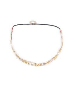 SERPUI | Embellished Headband Leather