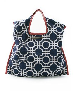 Xaa | Jacquard Effect Tote Bag