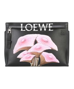 Loewe   Mushroom Clutch Leather