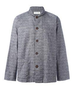 UNIVERSAL WORKS | Shawl Collar Overshirt Large Cotton