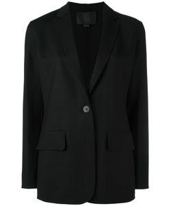 Alexander Wang | One Button Blazer 6 Virgin Wool/Spandex/Elastane