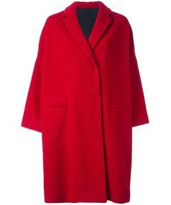 Brunello Cucinelli | Concealed Fastening Coat 44 Alpaca/Virgin Wool/Polyamide