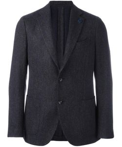 Lardini | Two-Button Blazer 48 Wool/Cotton/Cashmere/Cupro