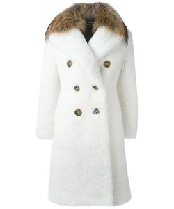 Burberry Runway | Raccoon Fur Collar Double Breasted Coat 44