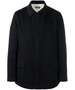Loro Piana | Flap Pocket Jacket Large Cotton/Polyester/Cashmere/Goat Suede