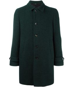 HEVO | Notched Lapel Mid Coat 52 Viscose/Virgin Wool/Polyamide
