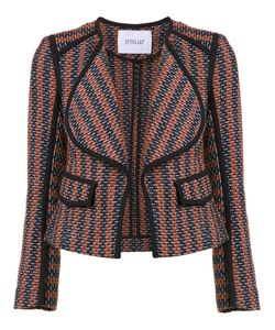 Derek Lam 10 Crosby | Striped Fitted Jacket 8