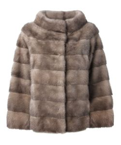 Liska | Philippa Coat Medium Mink Fur