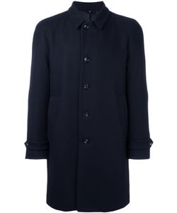 HEVO | Notched Lapel Mid Coat 46 Viscose/Virgin Wool/Polyamide