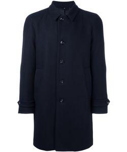HEVO | Notched Lapel Mid Coat 46 Viscose/Virgin Wool/Polyamide