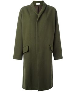 Plantation | Concealed Fastening Coat Small Cupro/Wool