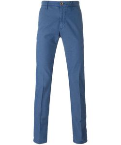 Incotex | Slim Chino Trousers 31 Cotton/Polyester/Spandex/Elastane