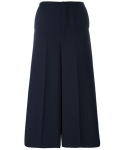 Marni | Wide Leg Culottes 42 Cupro/Virgin Wool