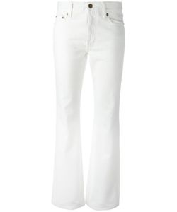 Saint Laurent | Original Cropped Flared Jeans 30 Cotton