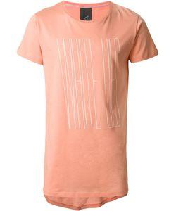 Odeur | Askew Front Print T-Shirt Adult Unisex Xs Cotton