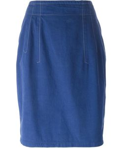 JIL SANDER VINTAGE | Denim Skirt 42