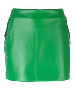 Barbara Bui | Mini Leather Skirt 38 Lamb Skin/Polyester/Calf
