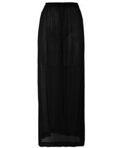 Ilaria Nistri | Sheer Long Skirt 40 Silk