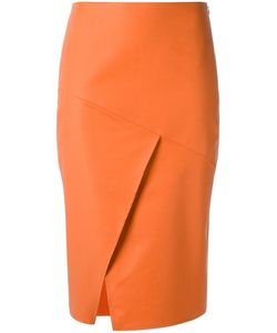 ANDREA MARQUES | Panelled Skirt 42 Cotton/Spandex/Elastane