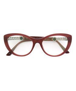 Bulgari | Cat Eye Frame Glasses Acetate/Metal Other