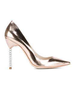Sophia Webster | Coco Crystal Pumps 35.5 Patent Leather/Leather/Crystal