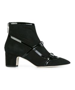 RAYNE | Emanuela Boots 37 Chamois Leather/Leather/Patent Leather